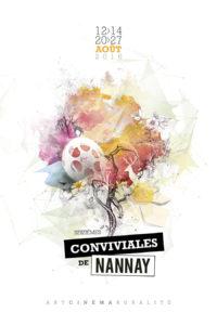 Affiche 2016 des Conviviales de Nannay
