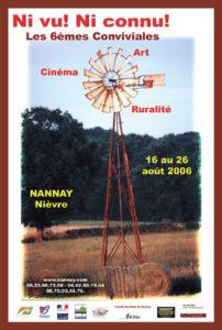 affiche conviviales 2006